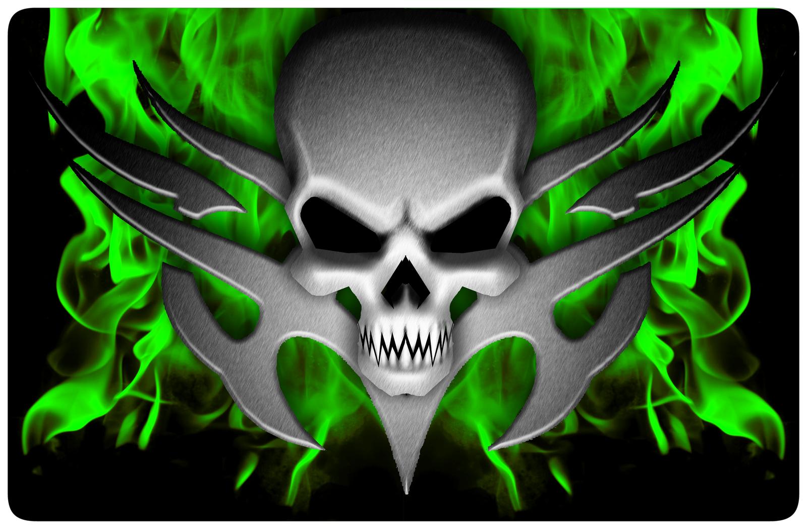 Cool Flaming Skull Wallpapers Photo Flaming Winged Skull HD Walls 1600x1048