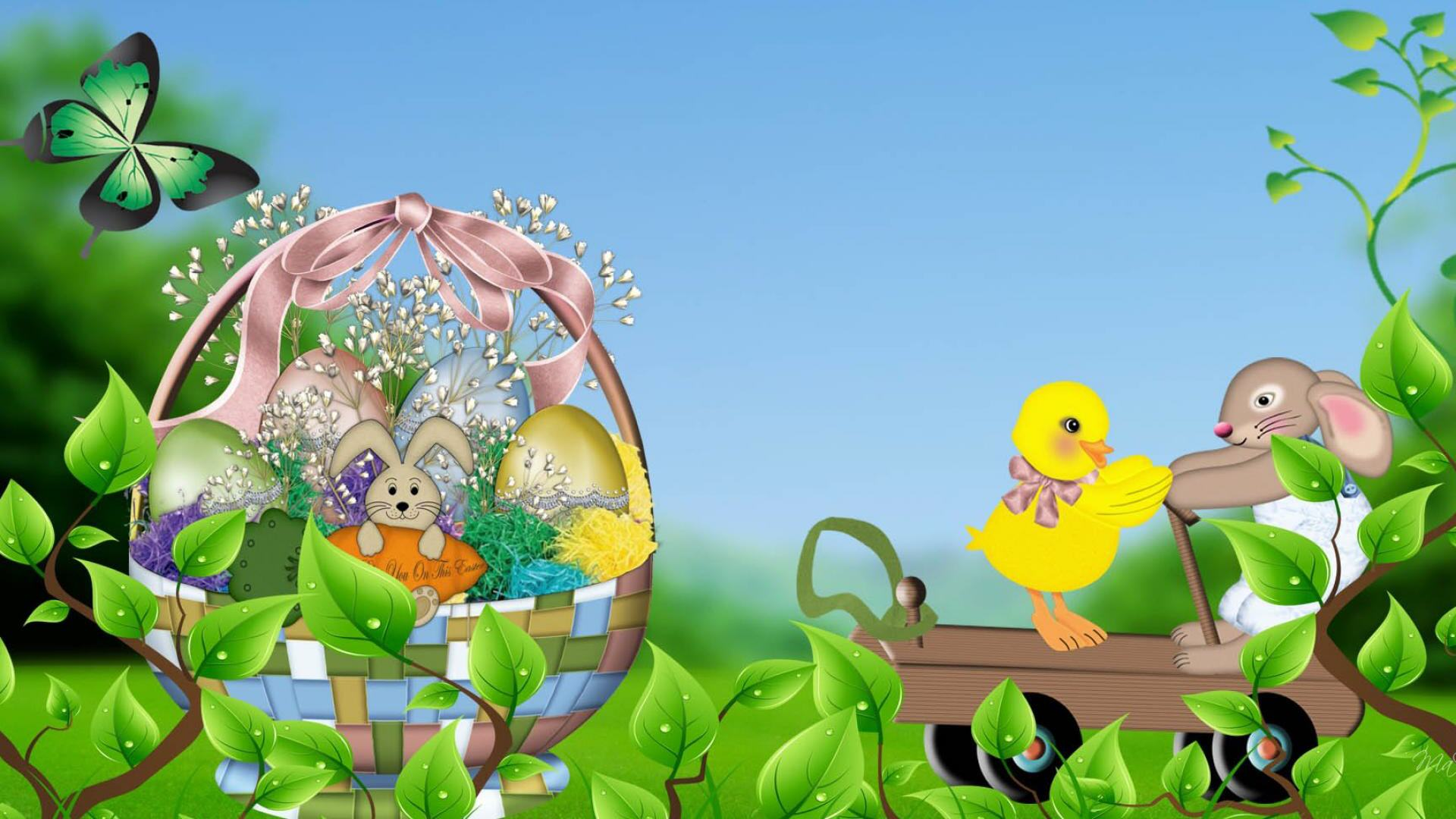 animated easter wallpaper which is under the easter wallpapers 1920x1080