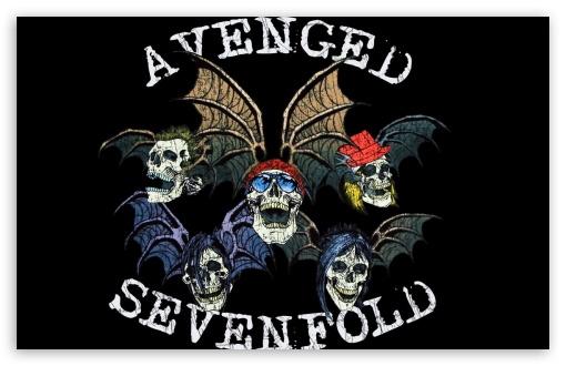 Avenged Sevenfold Logo wallpaper 510x330