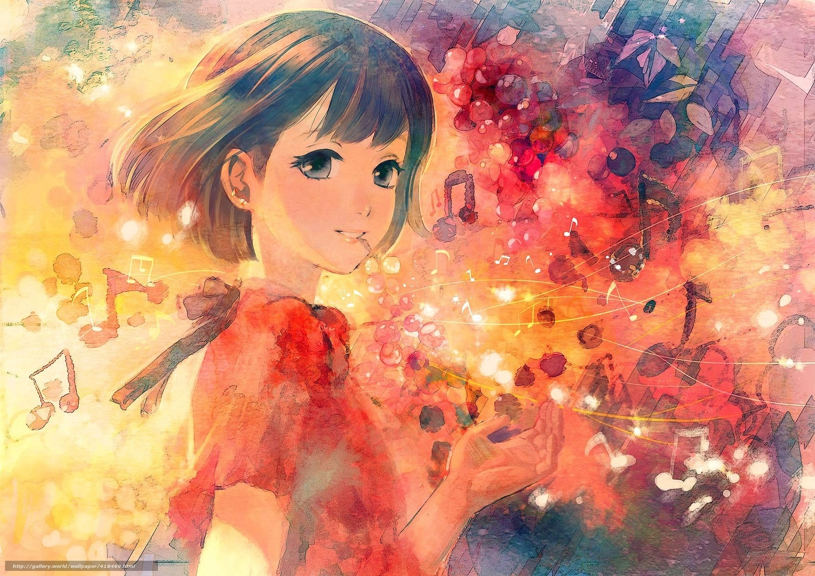 Anime Art Wallpaper  WallpaperSafari