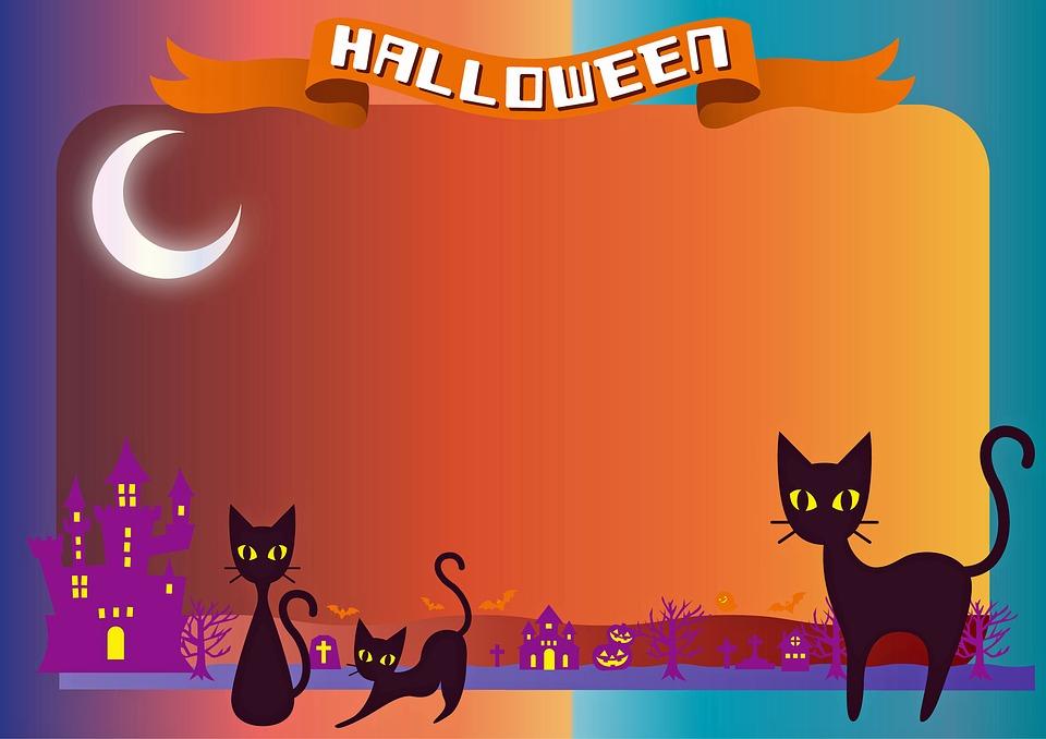 Halloween Background Happy   image on Pixabay 960x678