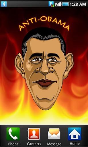 View bigger   Anti Obama wallpaper for Android screenshot 307x512