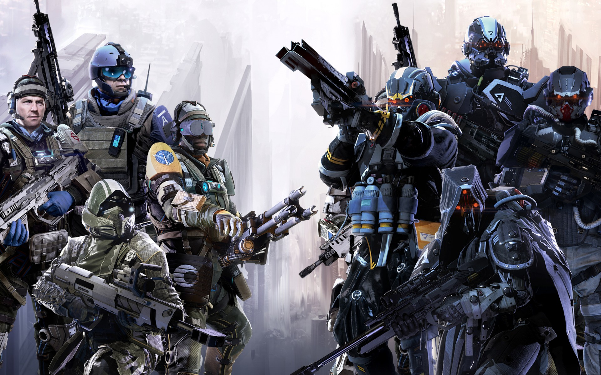 Game Killzone Shadow Fall Multiplayer 2333 Wallpapers and 1920x1200