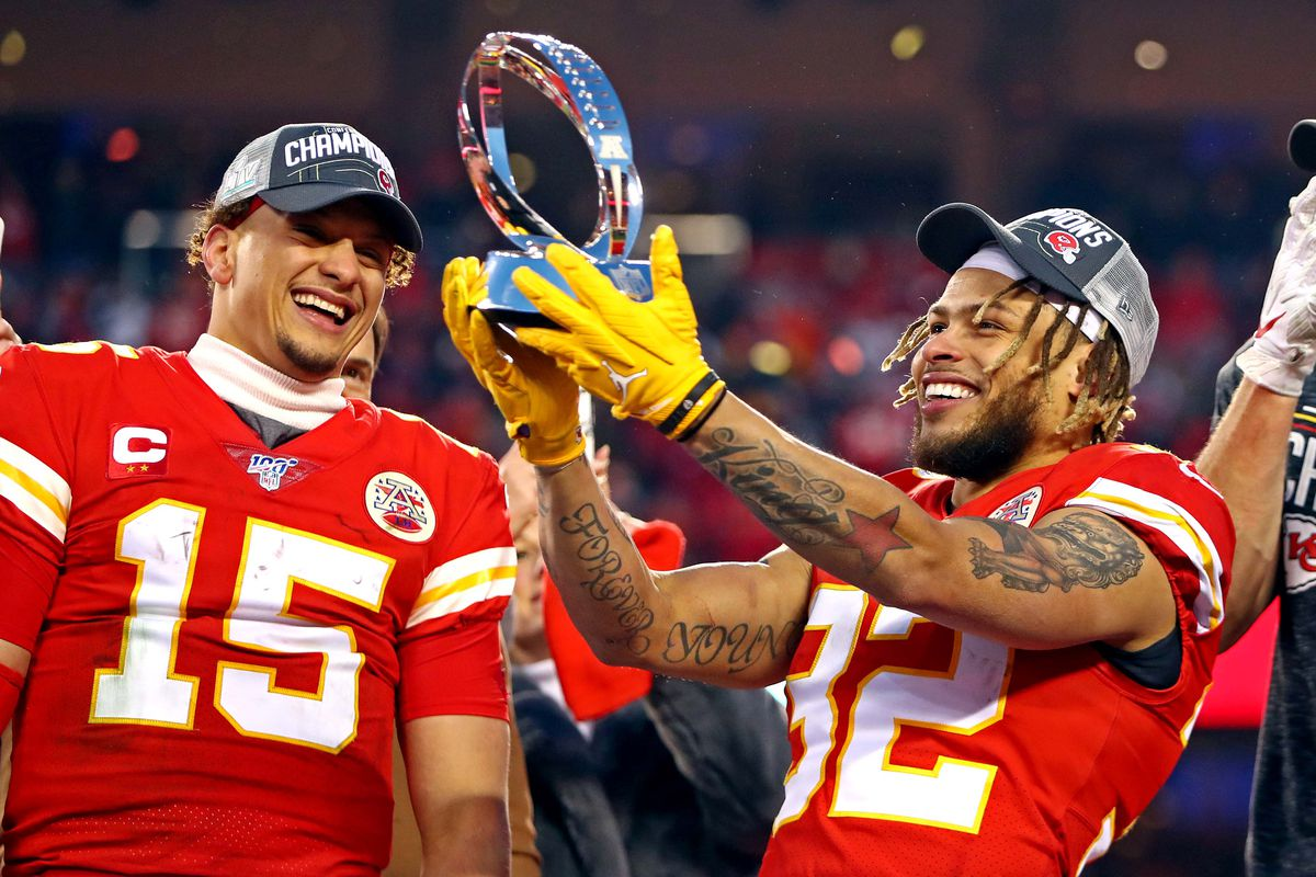 Super Bowl LIV San Francisco 49ers vs Kansas City Chiefs   Revenge 1200x800