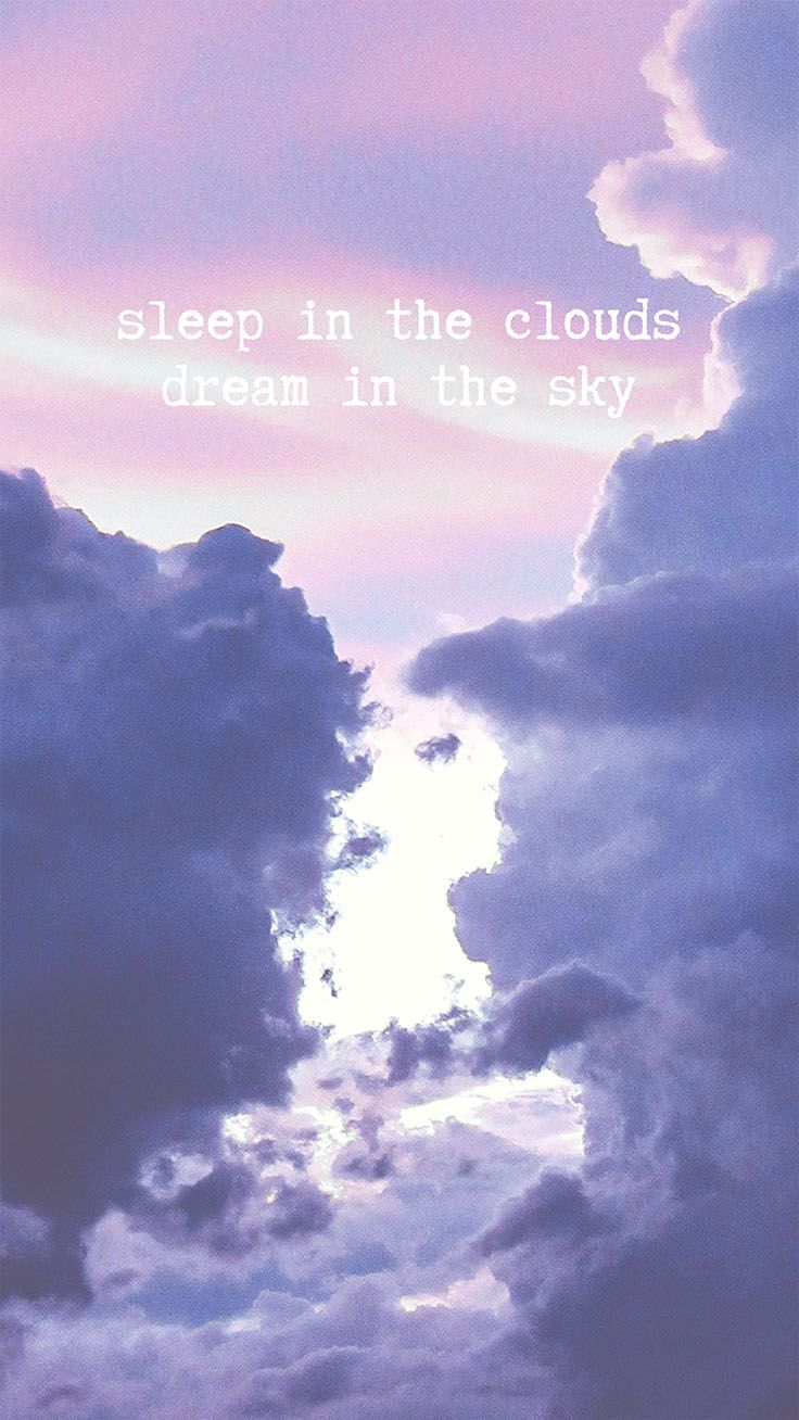 6 Cloudy Pastel iPhone Wallpapers For Daydreamers Crafting and 736x1308