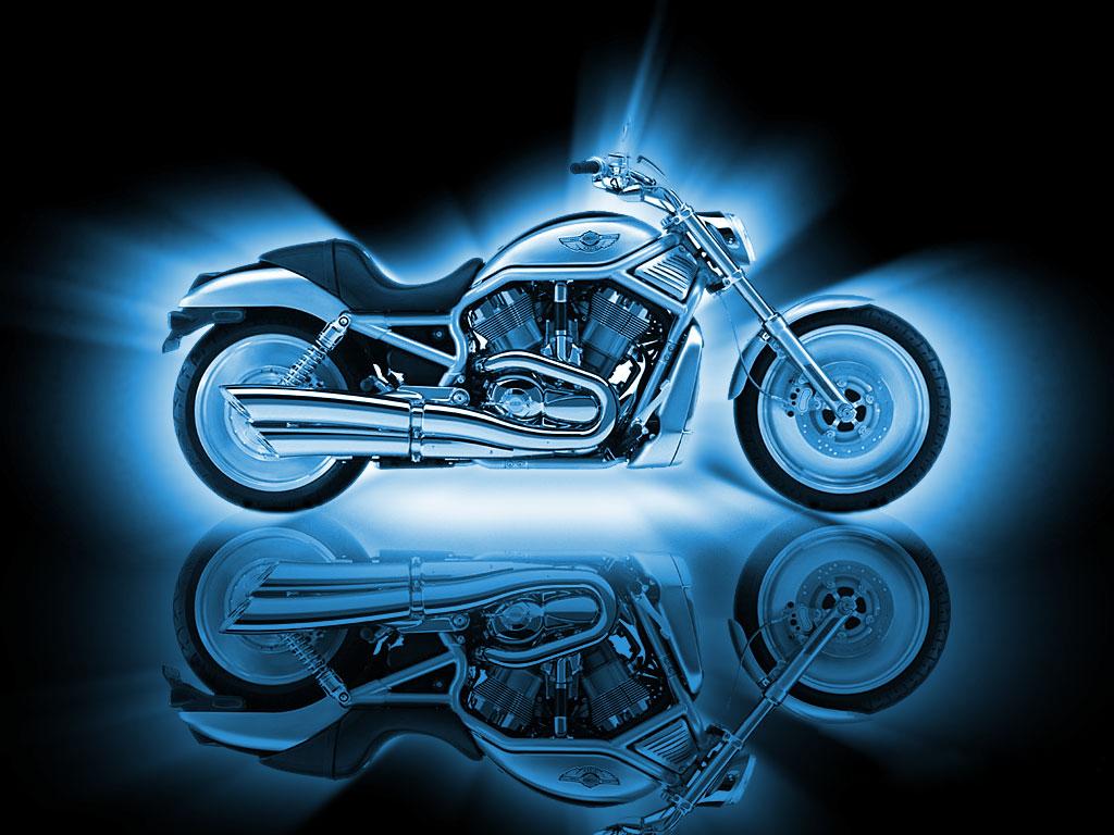 Desktop wallpaper downloads Motorcycles Kawasaki Harley Davidson 1024x768