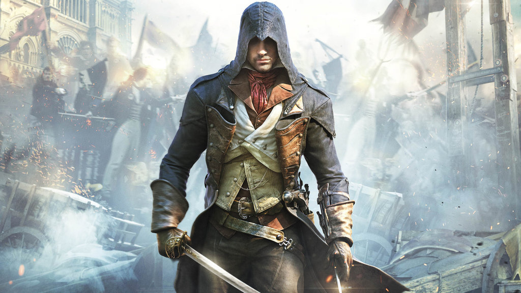 Assassins Creed Unity by vgwallpapers 1024x576