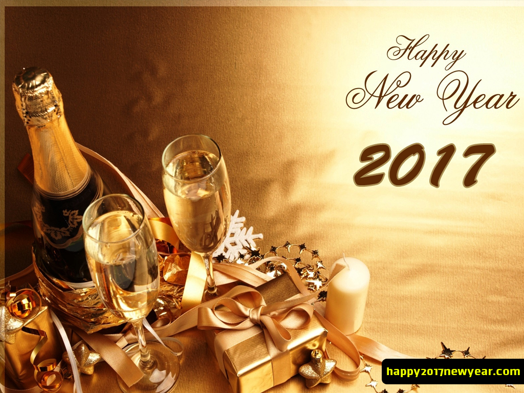 Beautiful Happy New Year Wallpaper For Your Desktop 1024x768