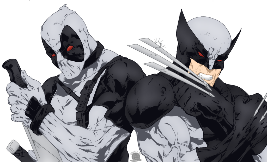 Force Deadpool Wallpaper X force wolverine and deadpool 1024x623