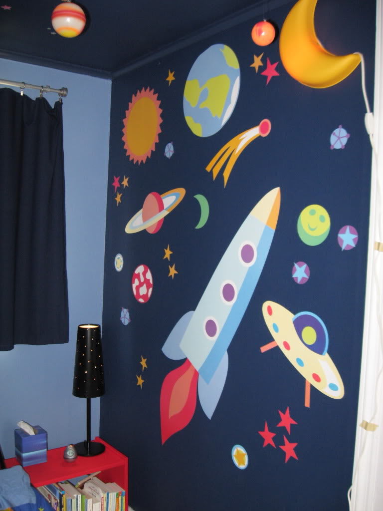 Outer Space Theme Bedroom Decorating Ideas Room Decorating Ideas 768x1024