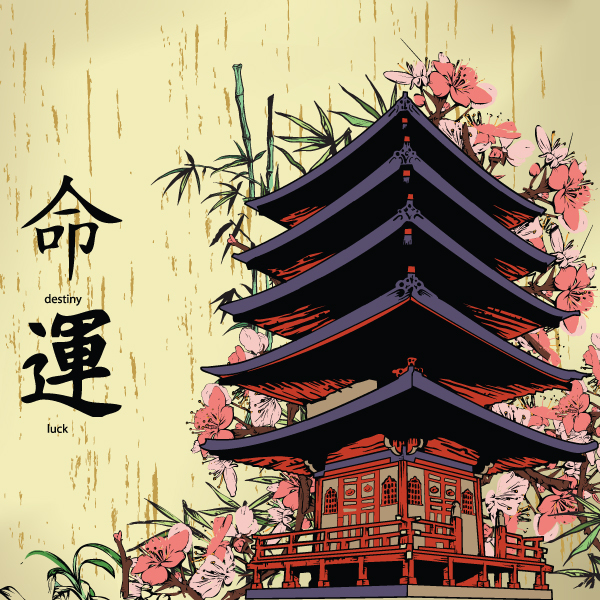 URL httpwwweazywallzcomjapanese temple and kanji wall mural 600x600