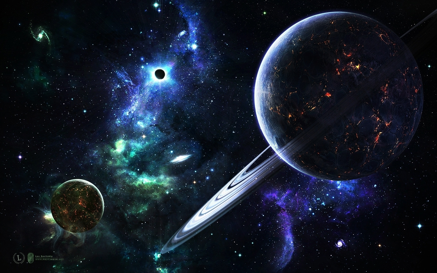 Space Art Wallpaper - Space Wallpaper (7076682) - Fanpop