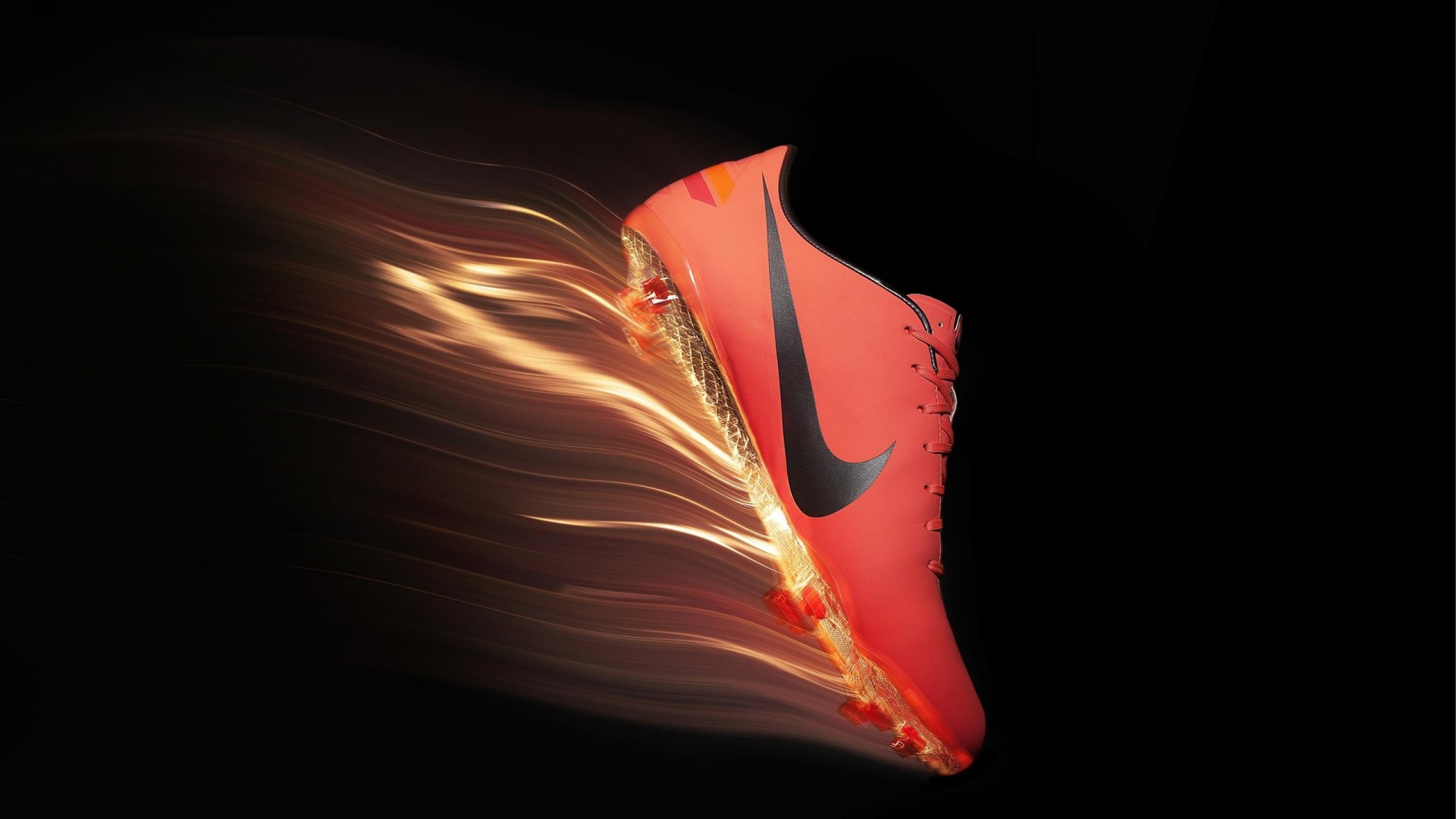 Red Nike Football Shoes Wallpaper Desktop Wallpaper with 1920x1080 1920x1080