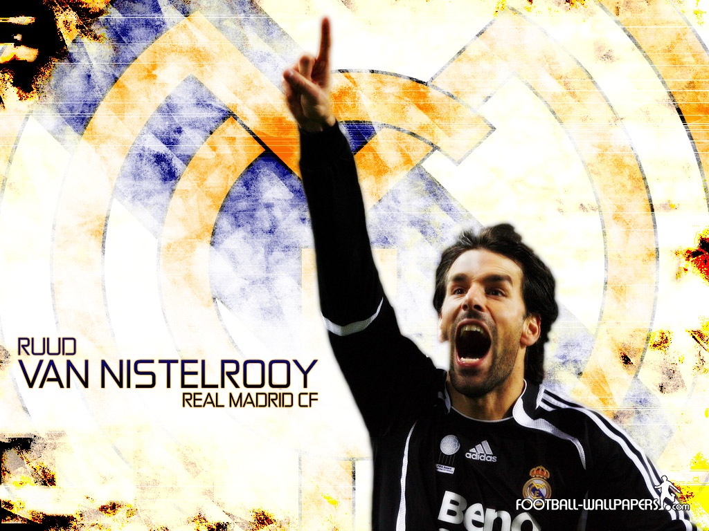vannistelrooy real madrid photo 1024x768