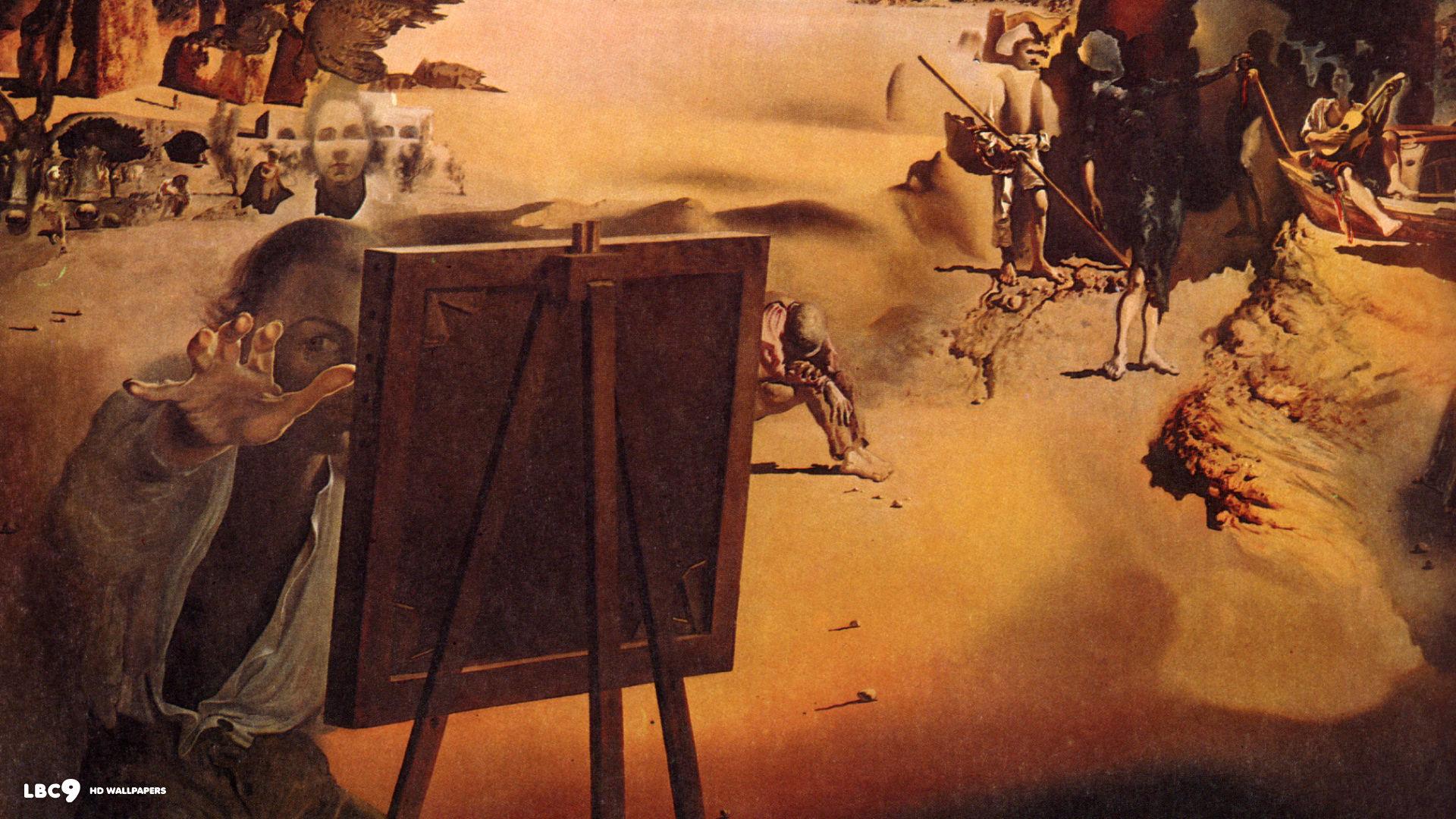 salvador dali desktop wallpaper wallpapersafari