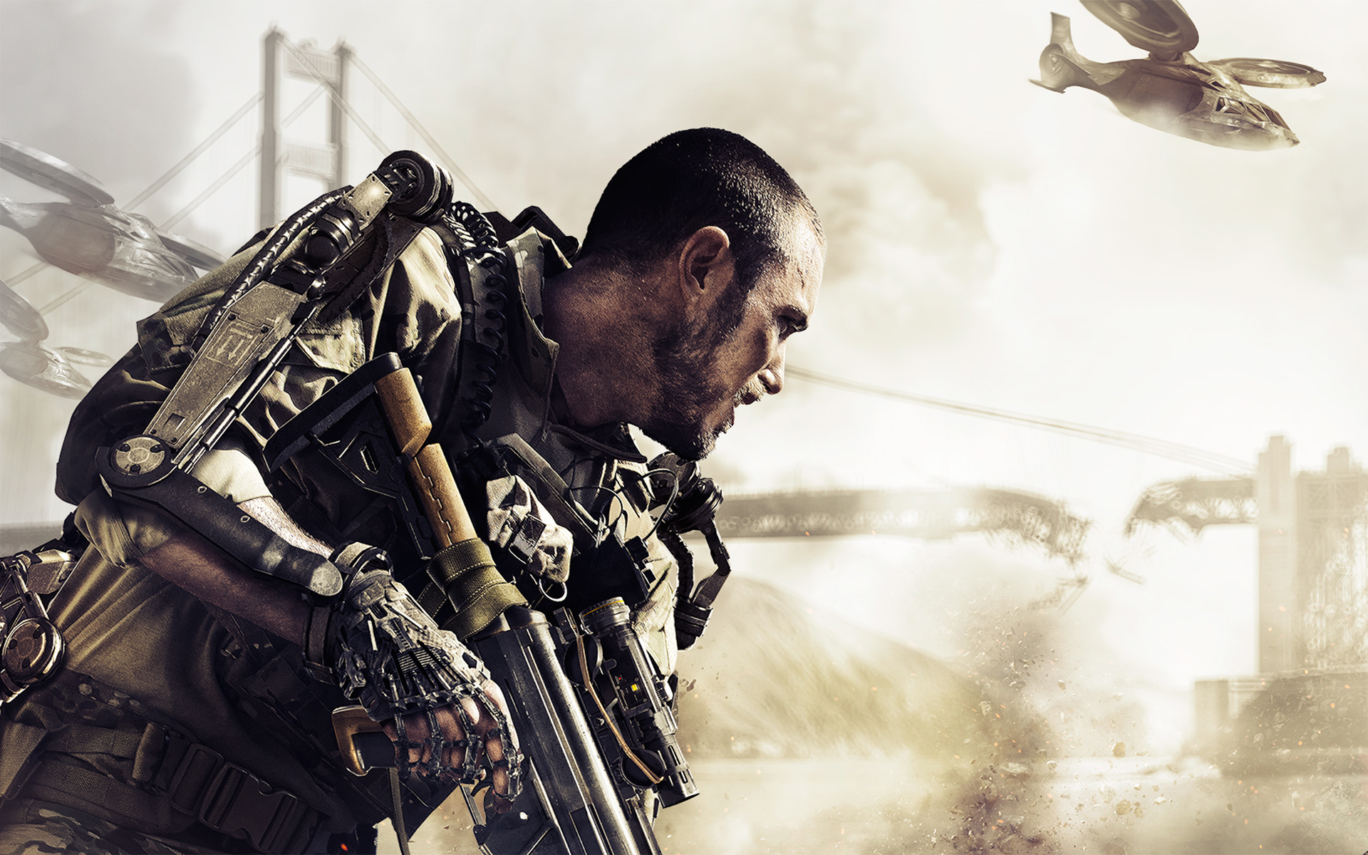Call Of Duty Advanced Warfare Game HD Wallpapers 1920x1200