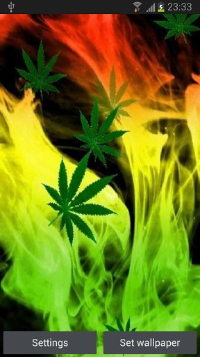 WEED HD Live Wallpaper App for Android by Best HD Superstars 288x512