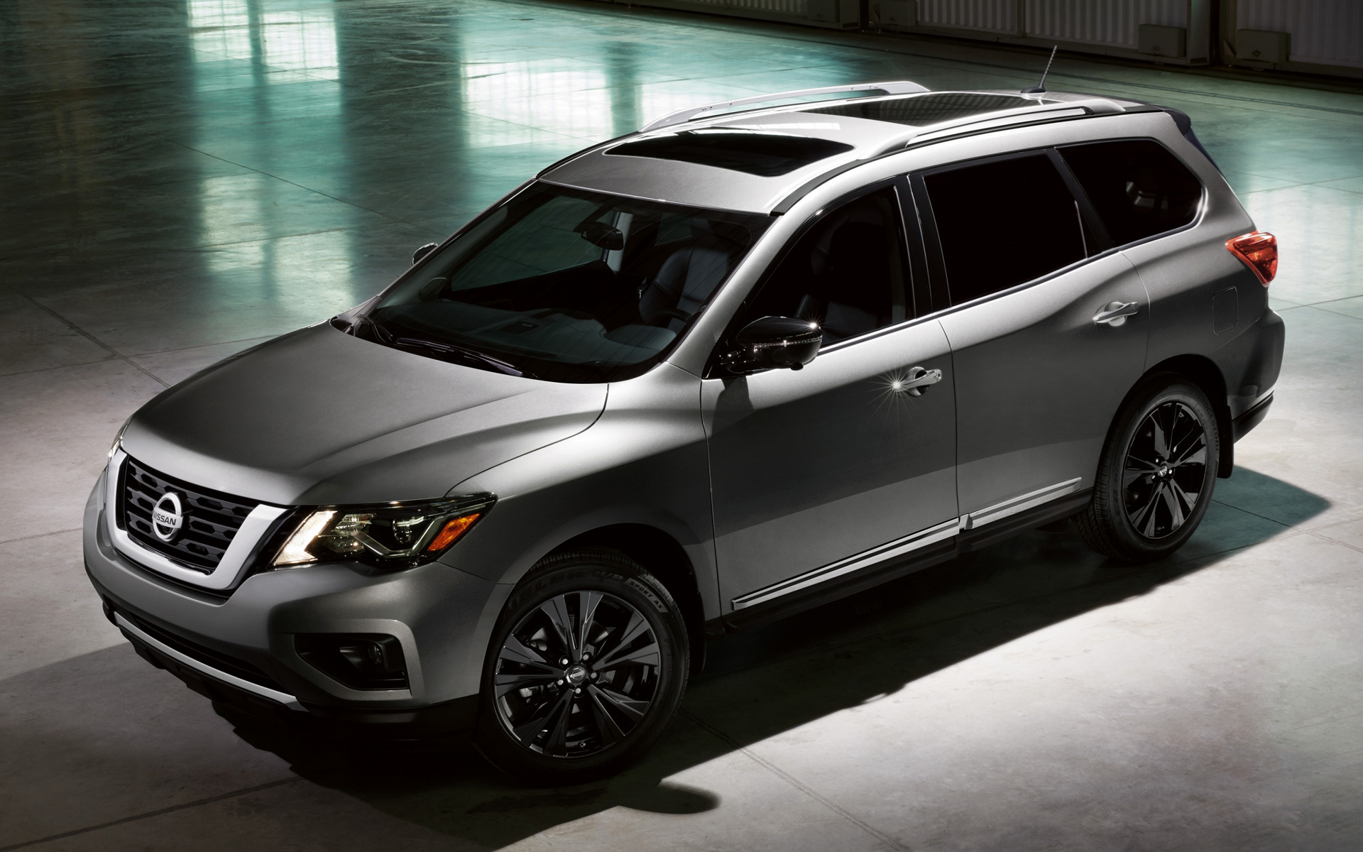 2017 Nissan Pathfinder Midnight Edition   Wallpapers and HD Images 1920x1200