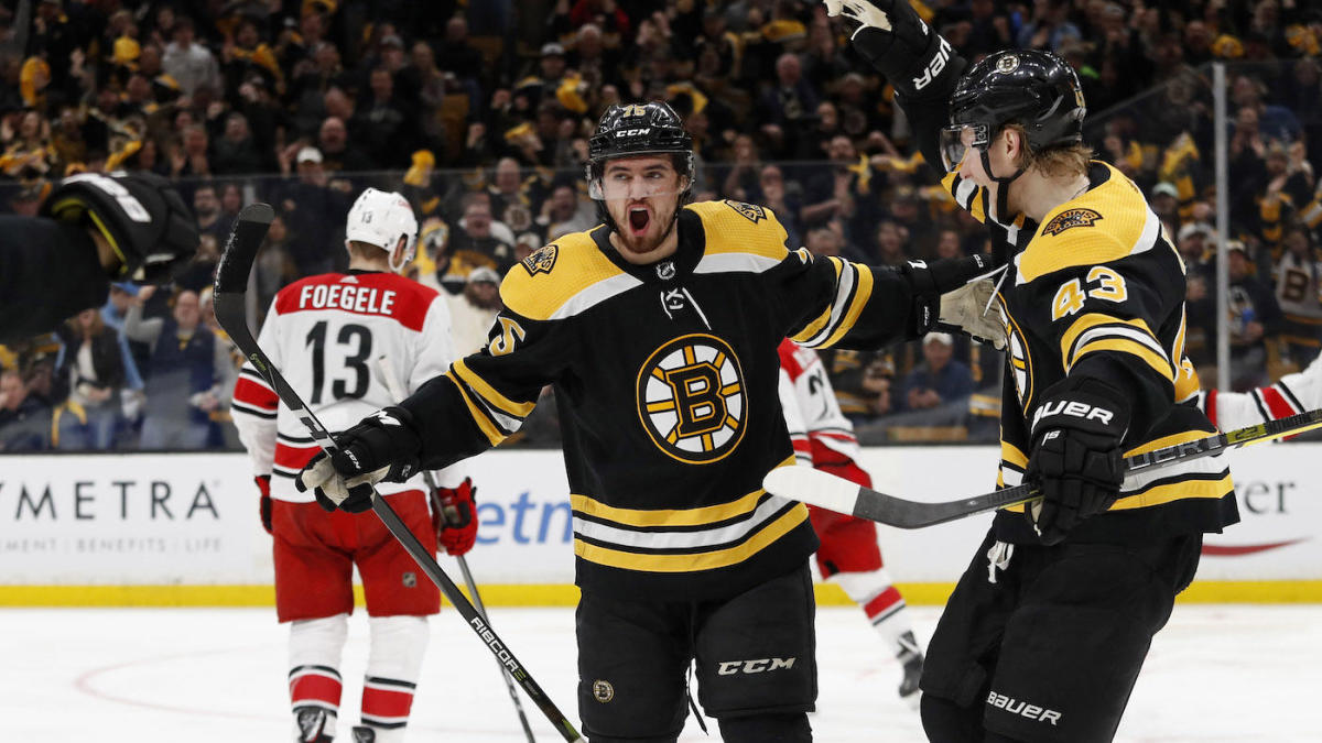 2019 Stanley Cup Playoffs Bruins stomp Hurricanes to take 2 0 1200x675