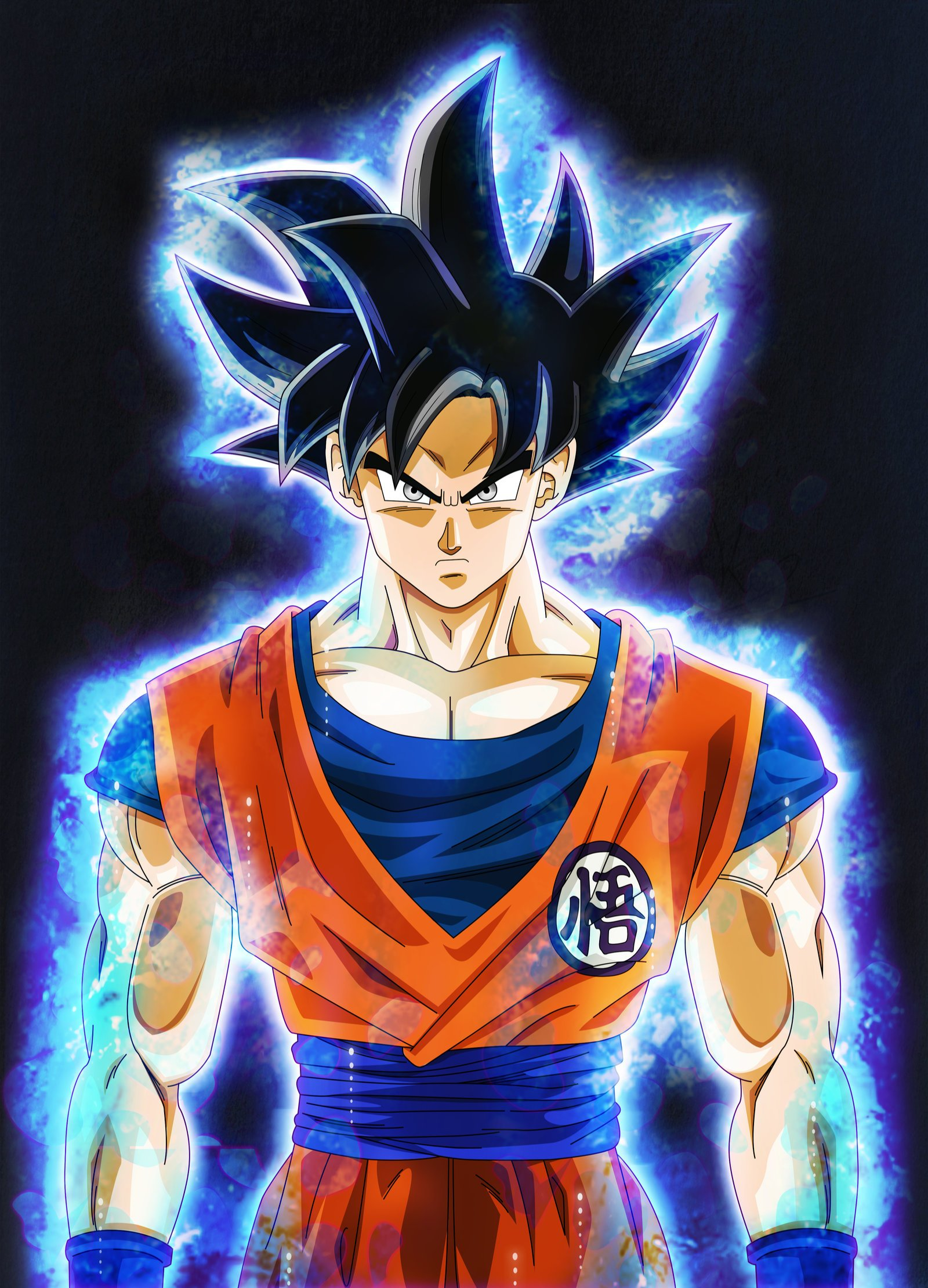 Dbs Ultra Instinct Goku Wallpaper WallsKid 1600x2220