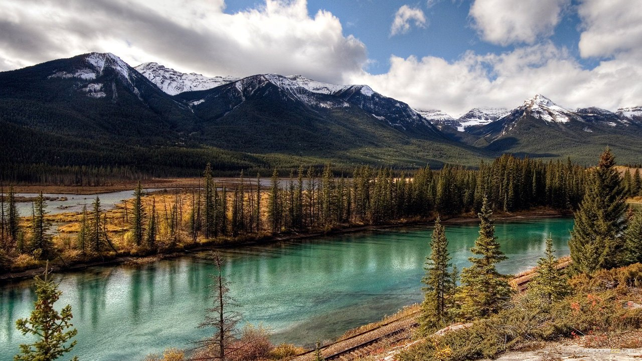 Download Banff National Park HD Wallpaper Wallpaper 1280x720