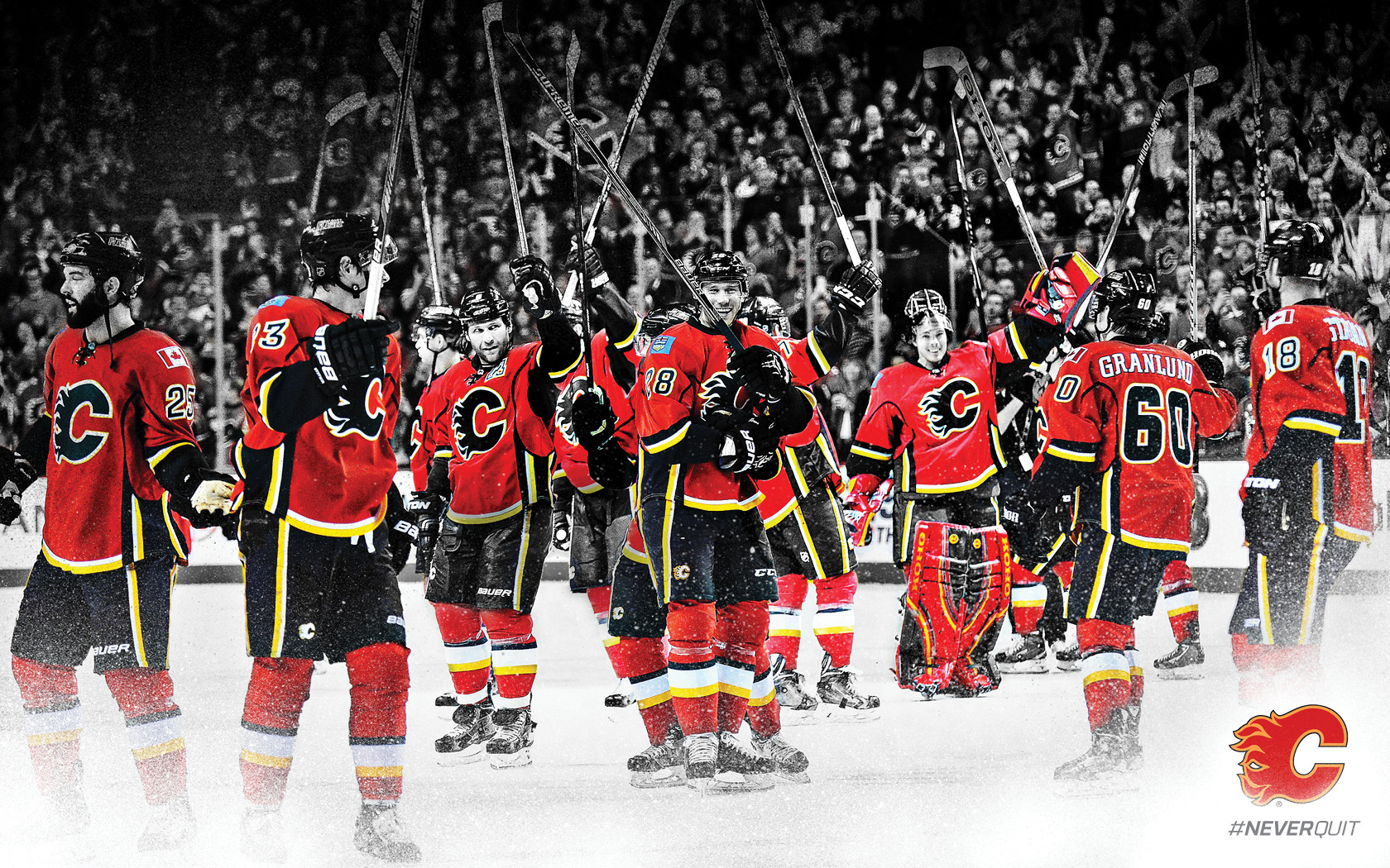 [38+] Calgary Flames Wallpaper Images On WallpaperSafari