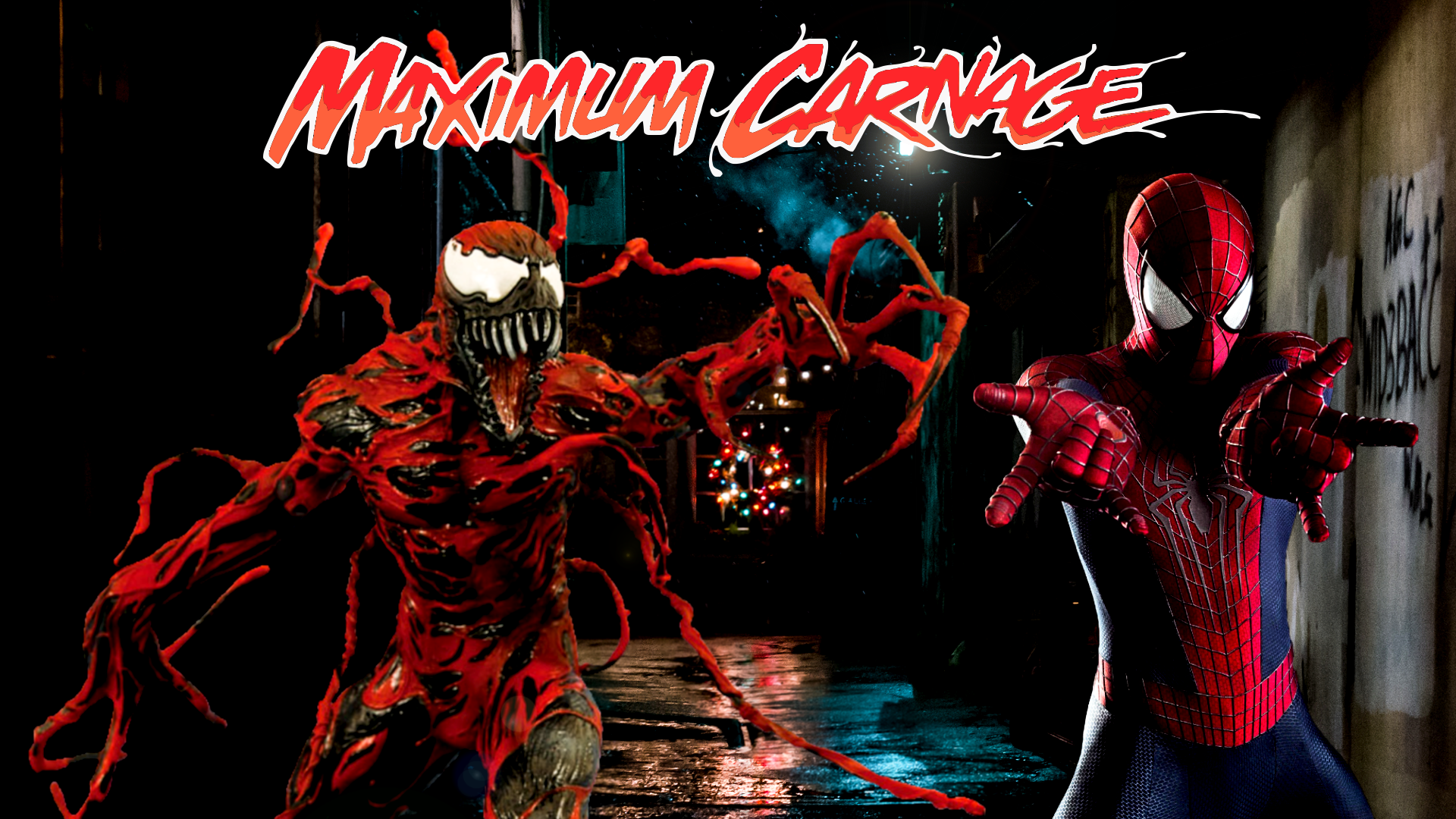Spider Man and Venom Maximum Carnage Poster 2 by ProfessorAdagio on 1920x1080