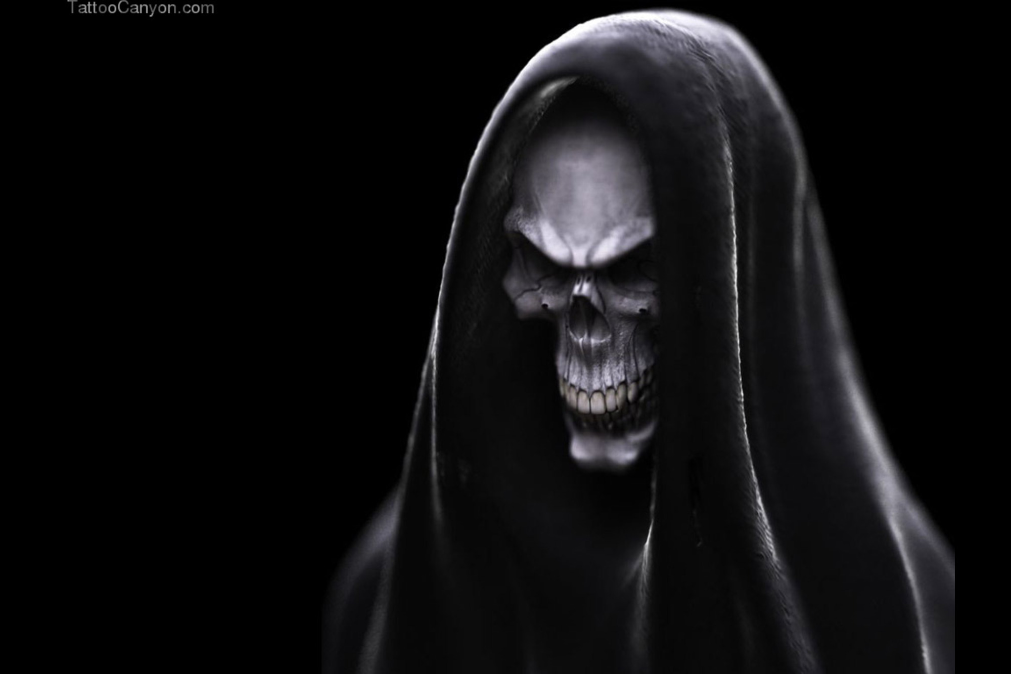 Download Scary Skulls Wallpaper Dark Evil Skull Picture 2586 2000x1333