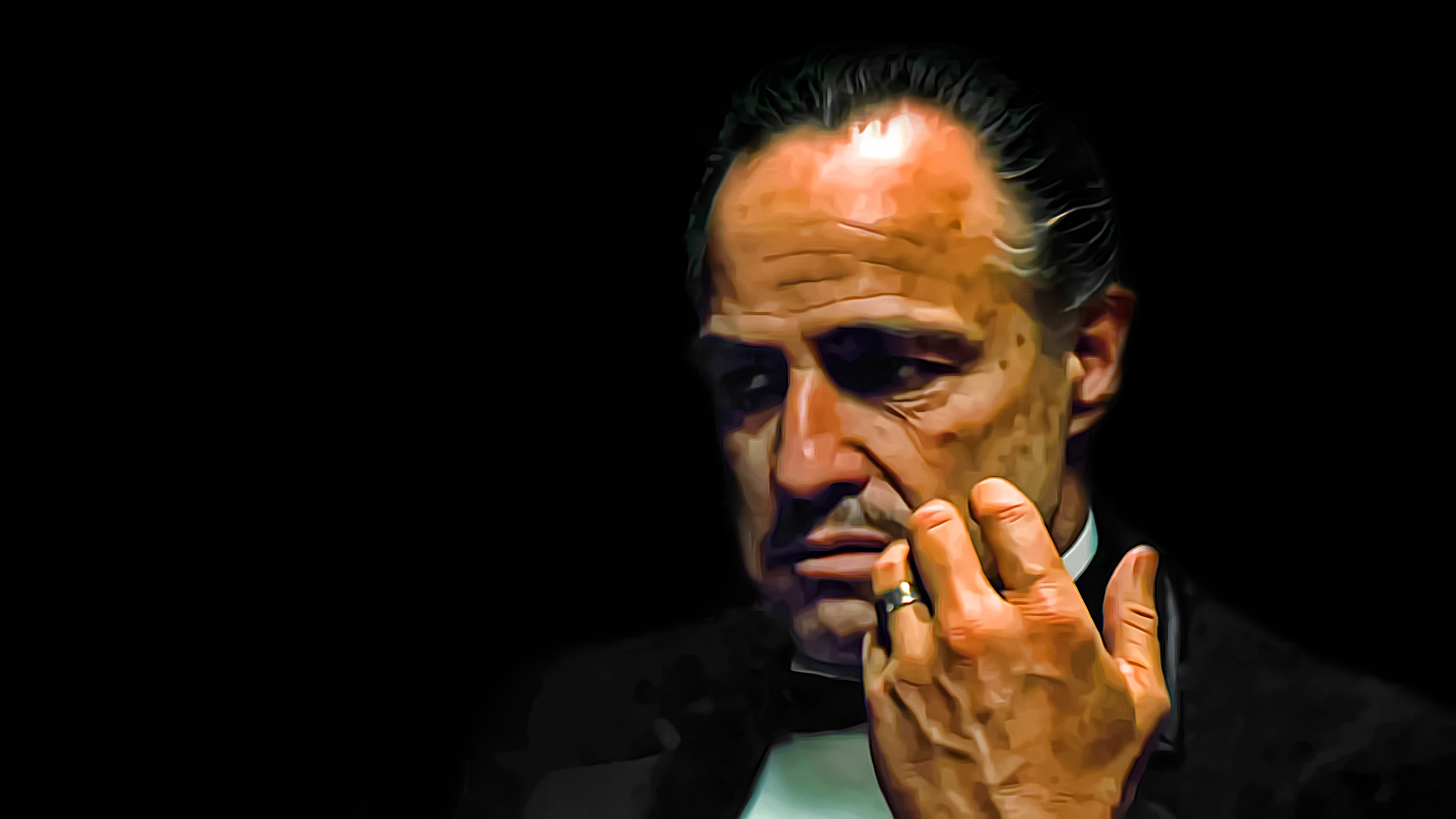 The Godfather Don Corleonepng 1920x1080