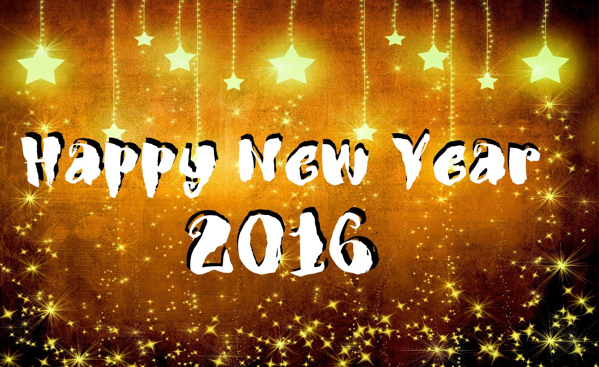 Happy new year 2016 wallpaper 1920x1176