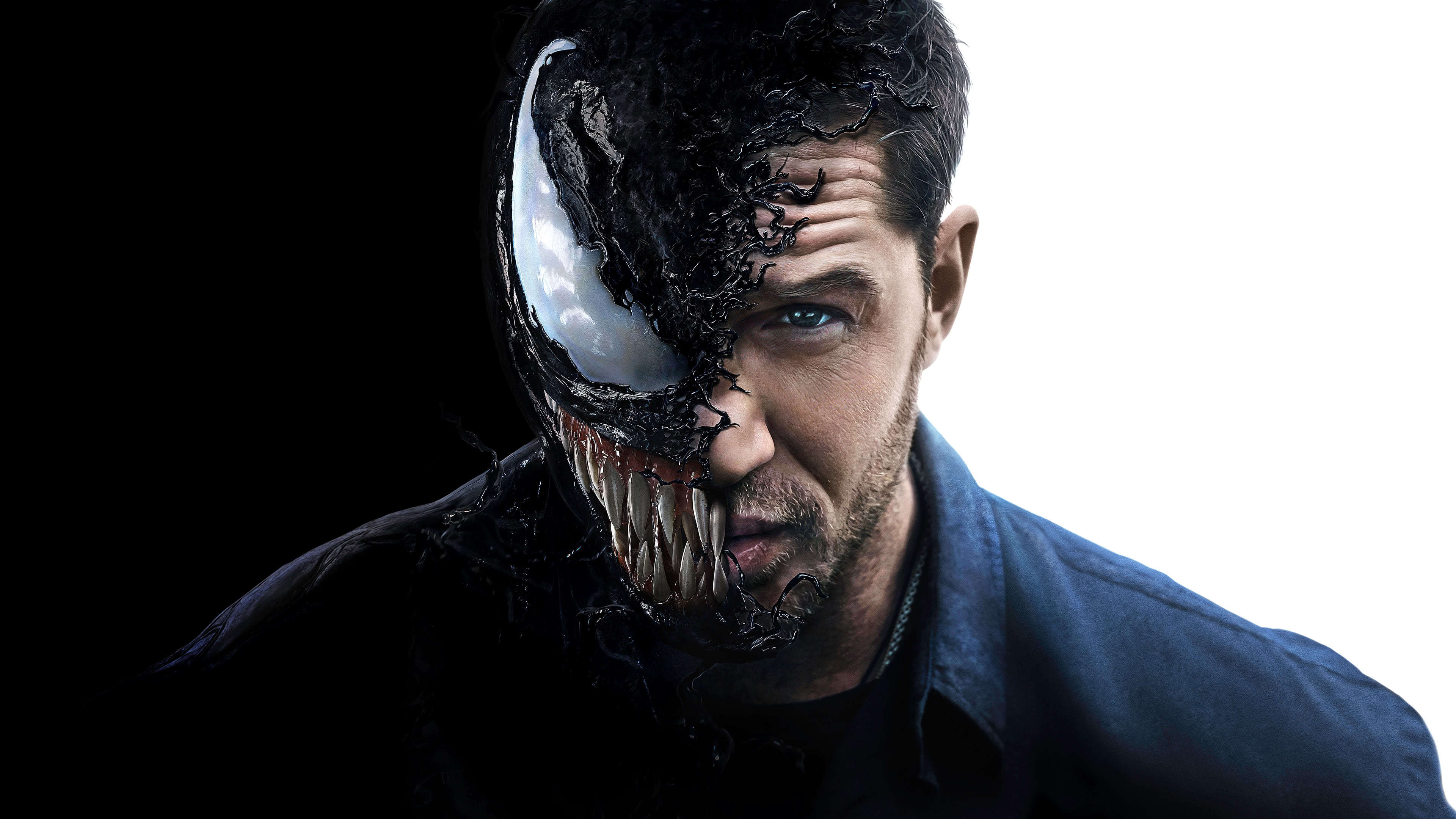 Venom Tom Hardy UHD 4K Wallpaper Pixelz 3840x2160
