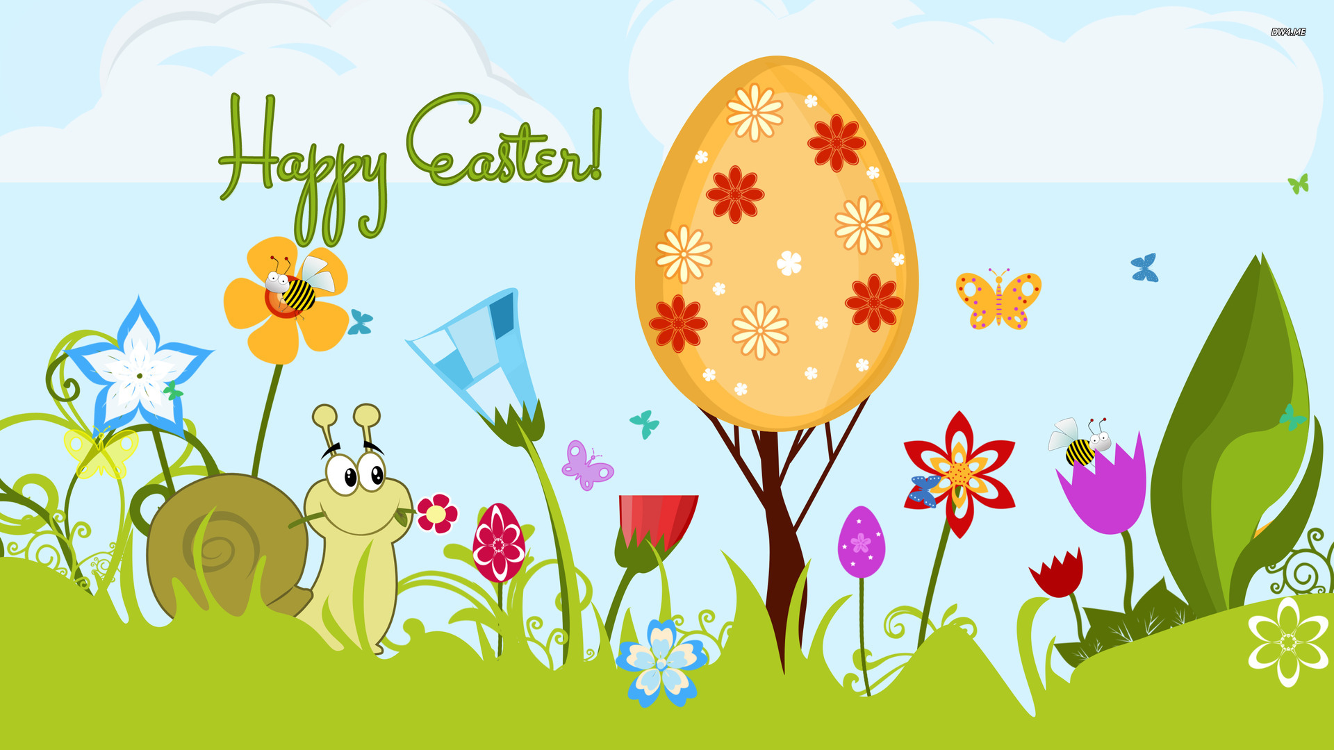 Happy Easter Backgrounds wallpaper   816707 1920x1080