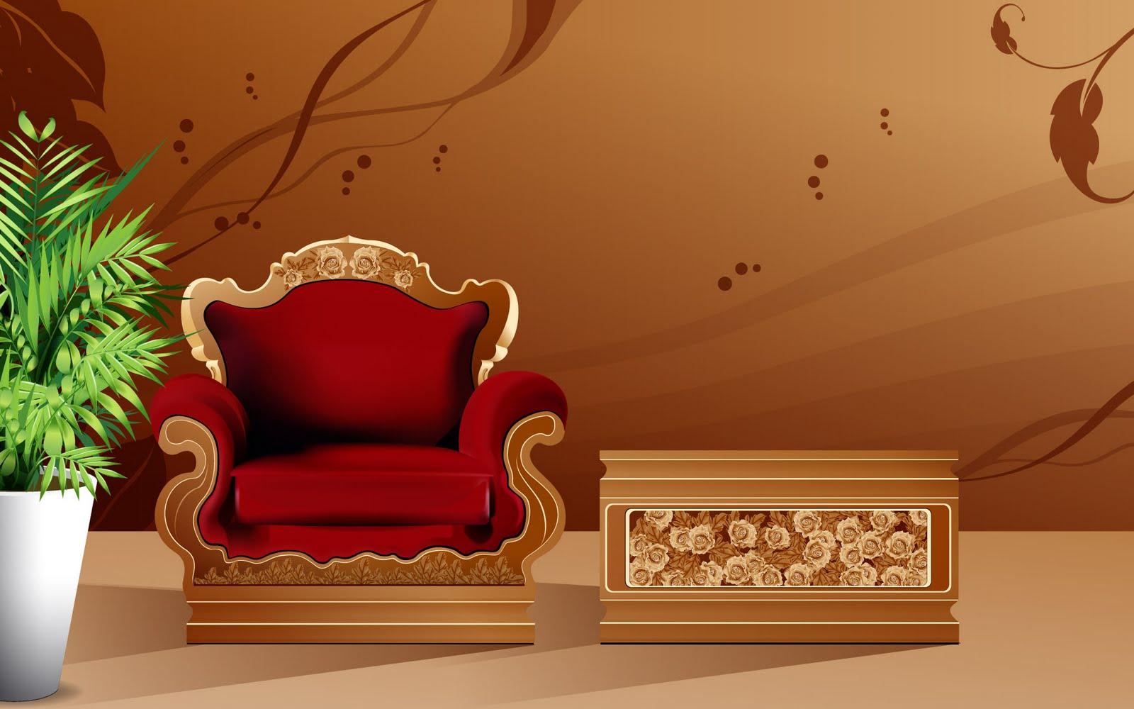 Home Interior Pictures Digital art interior design wallpapers 11 1600x1000