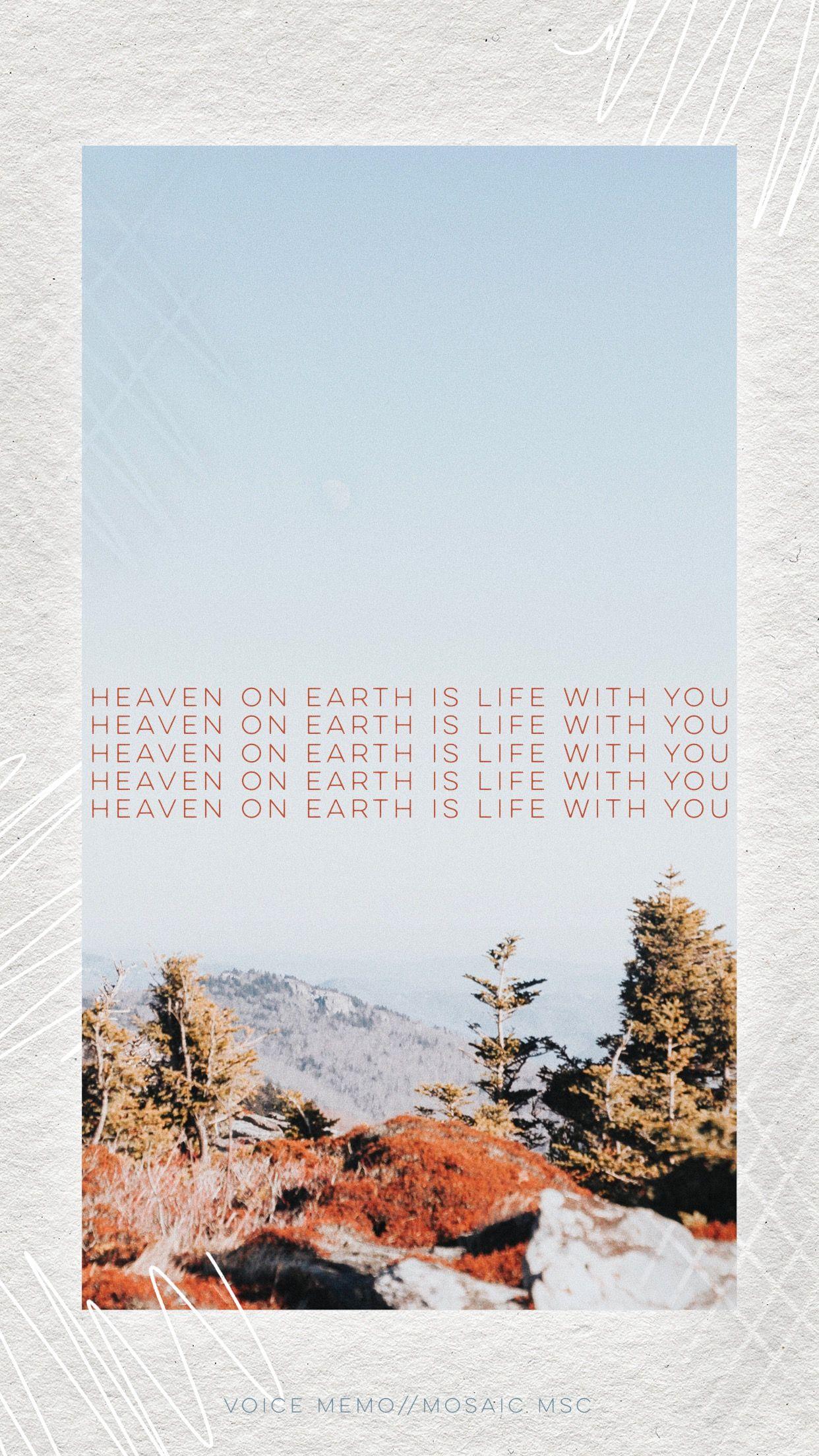 Lockscreen wallpaper bible verse quote mountains 1242x2208