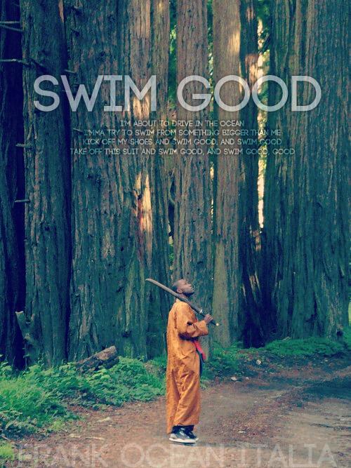 Swim Good Frank Ocean by IlCrow by IlCrow on deviantART 500x667