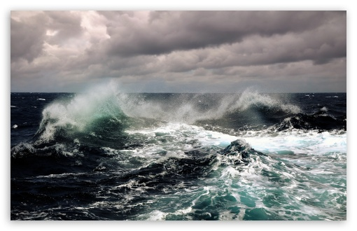 Download Stormy Ocean wallpaper