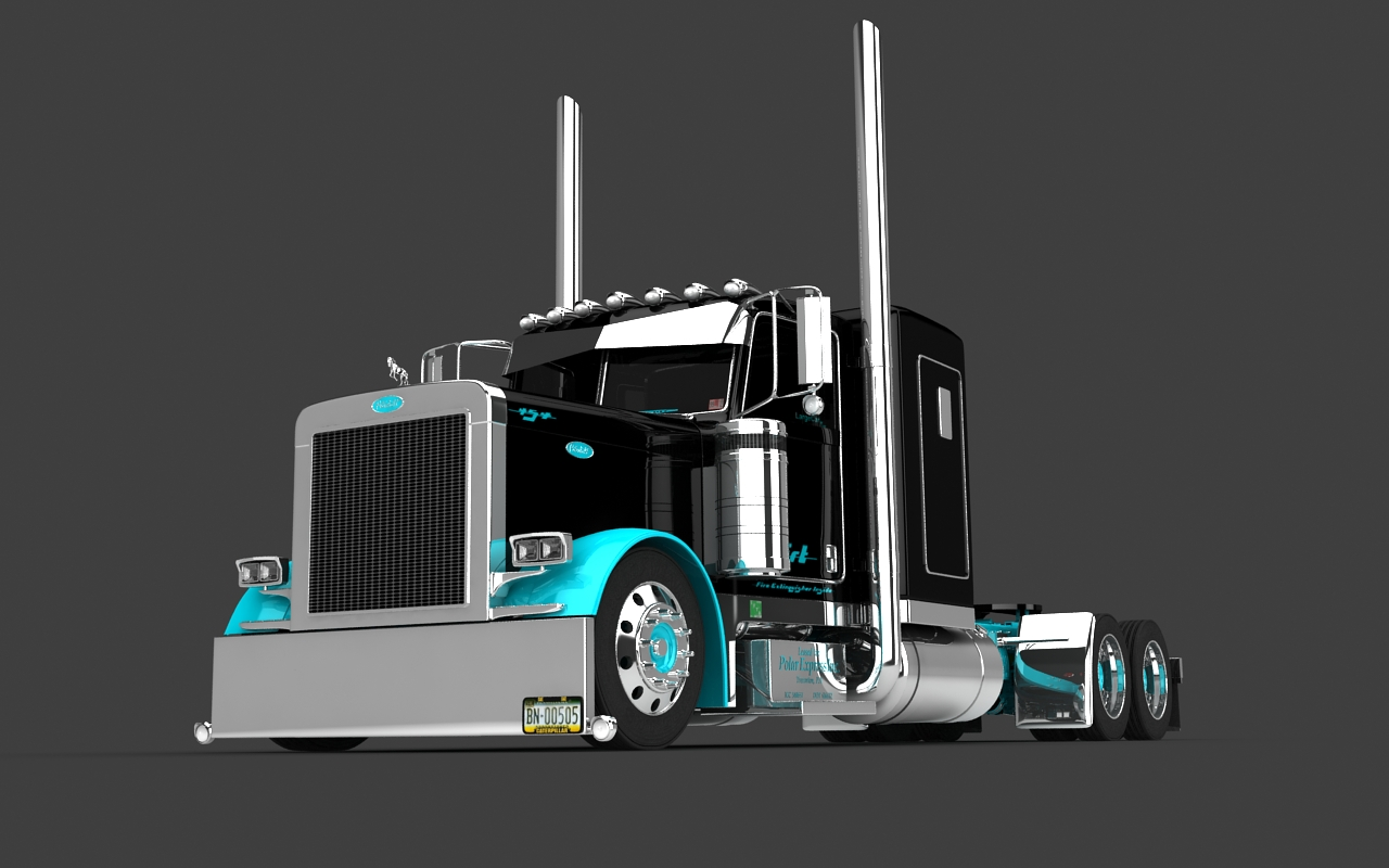 67   Cat Peterbilt Truck Wallpapers On Wallpapersafari