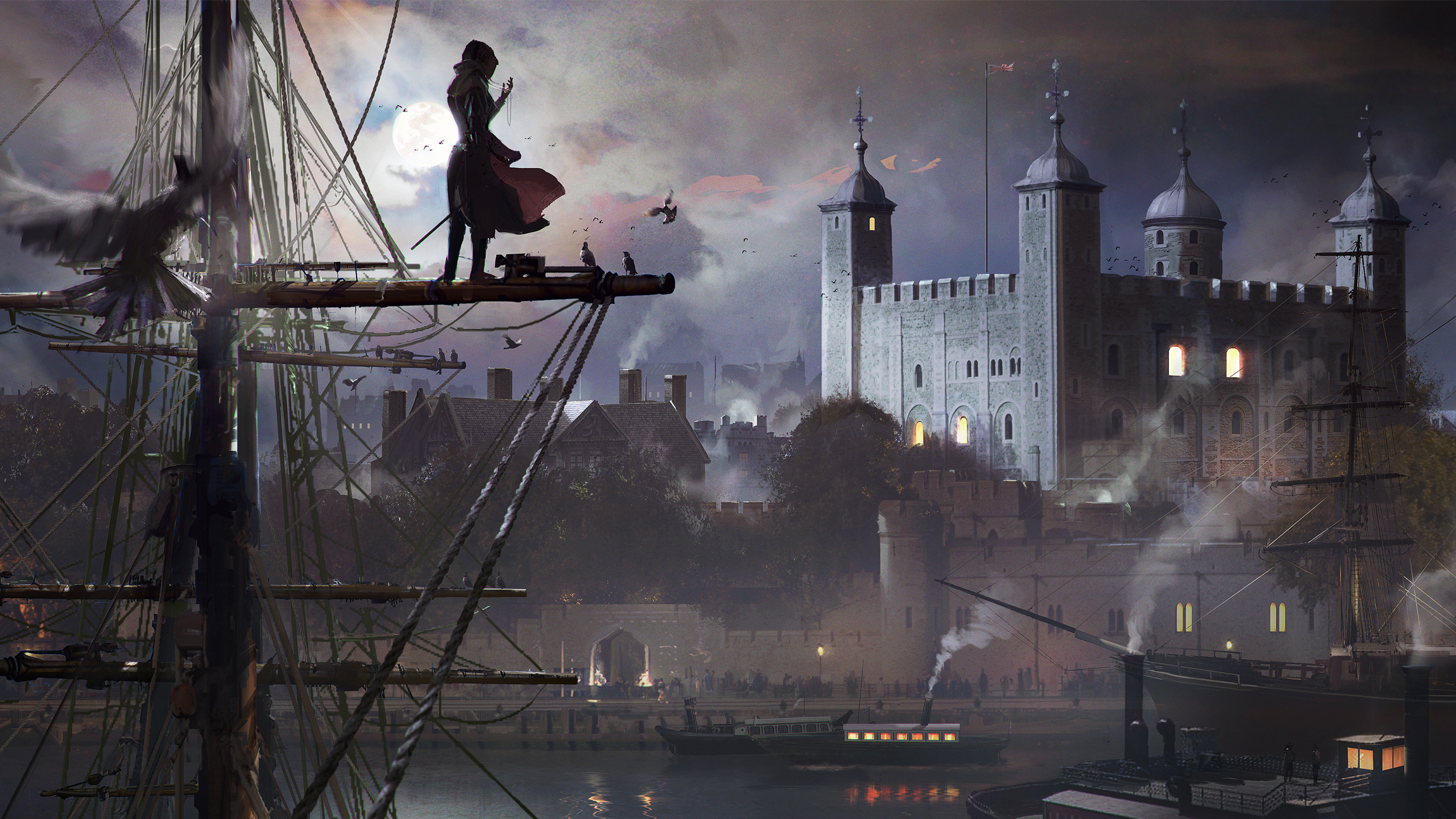 Female Character Assassins Creed Syndicate Wallpapers HD Wallpapers 2560x1440