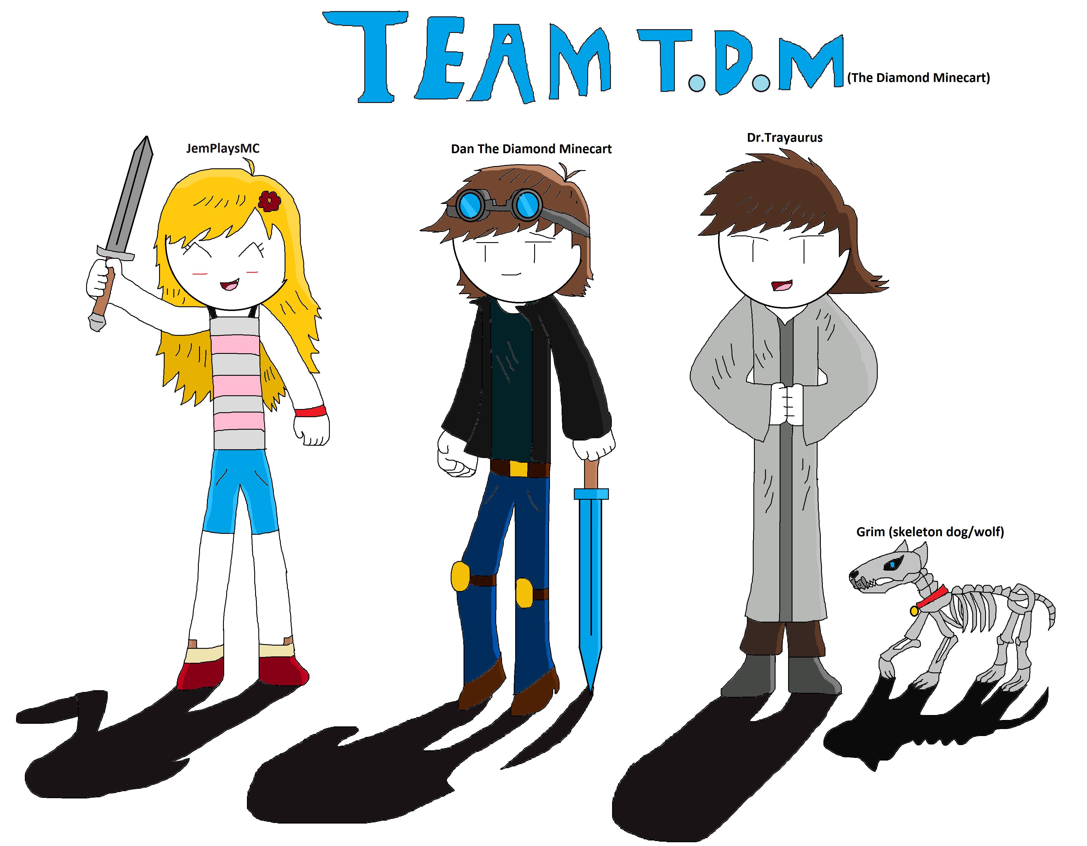 DanTDM fan art by testabuddy05 3724x2900