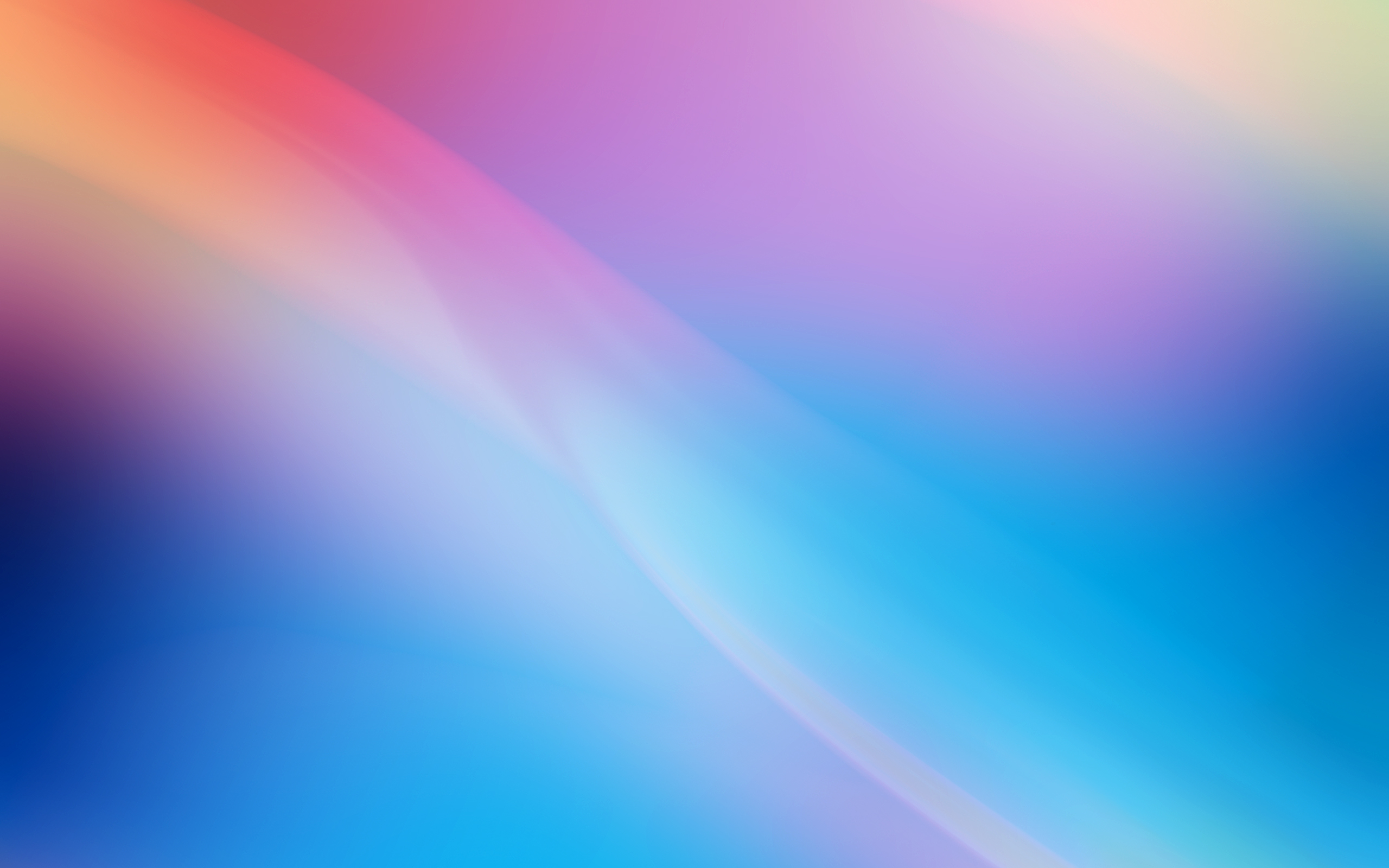 Blue Purple Light and Colors Wallpaper Zon Saja 2560x1600