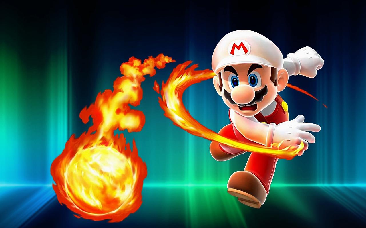 Pics Photos   Super Mario Hd Wallpaper 1280x800