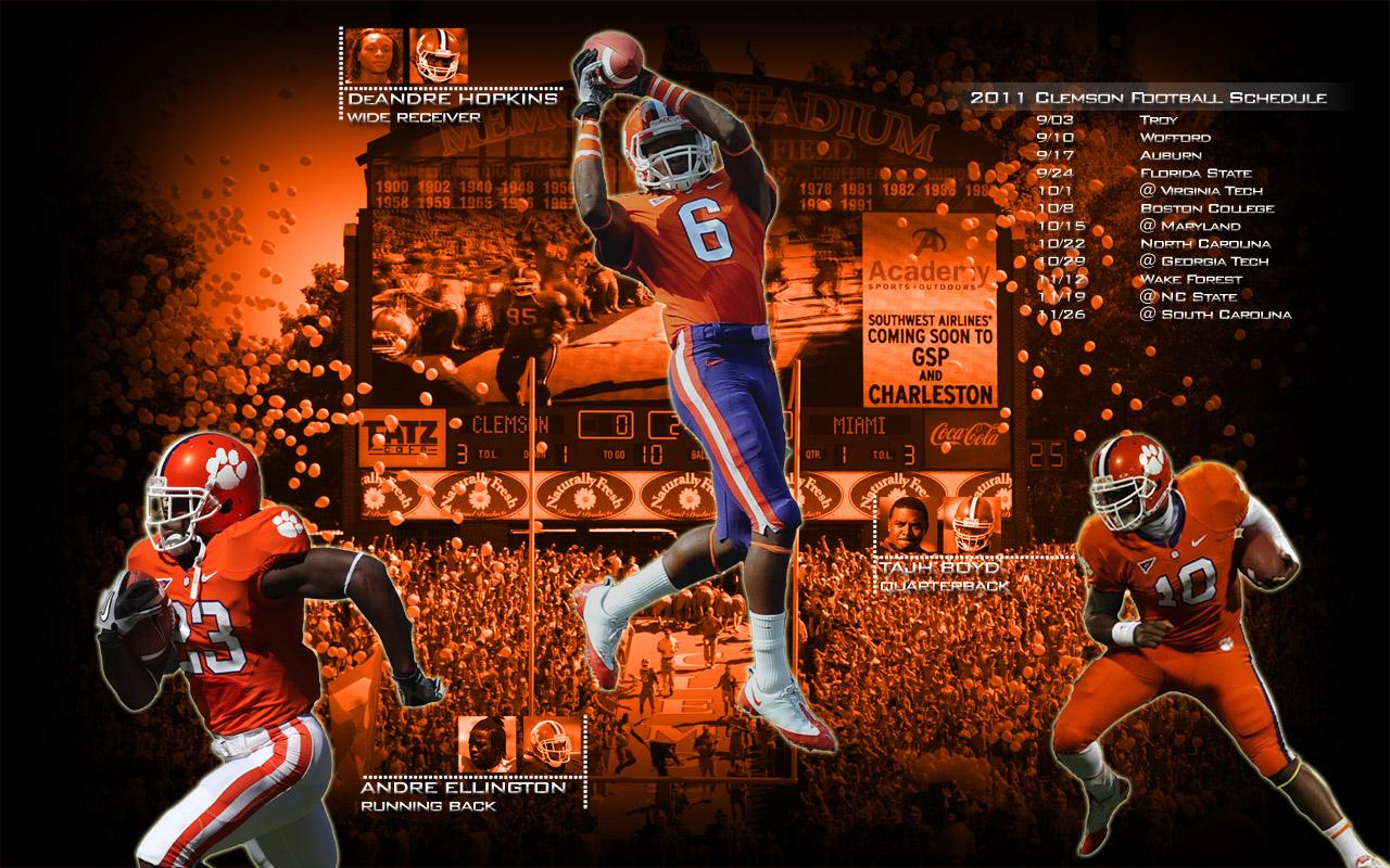 Clemson Tigers Desktop Wallpaper   wwwwallpapers in hdcom 1280x800