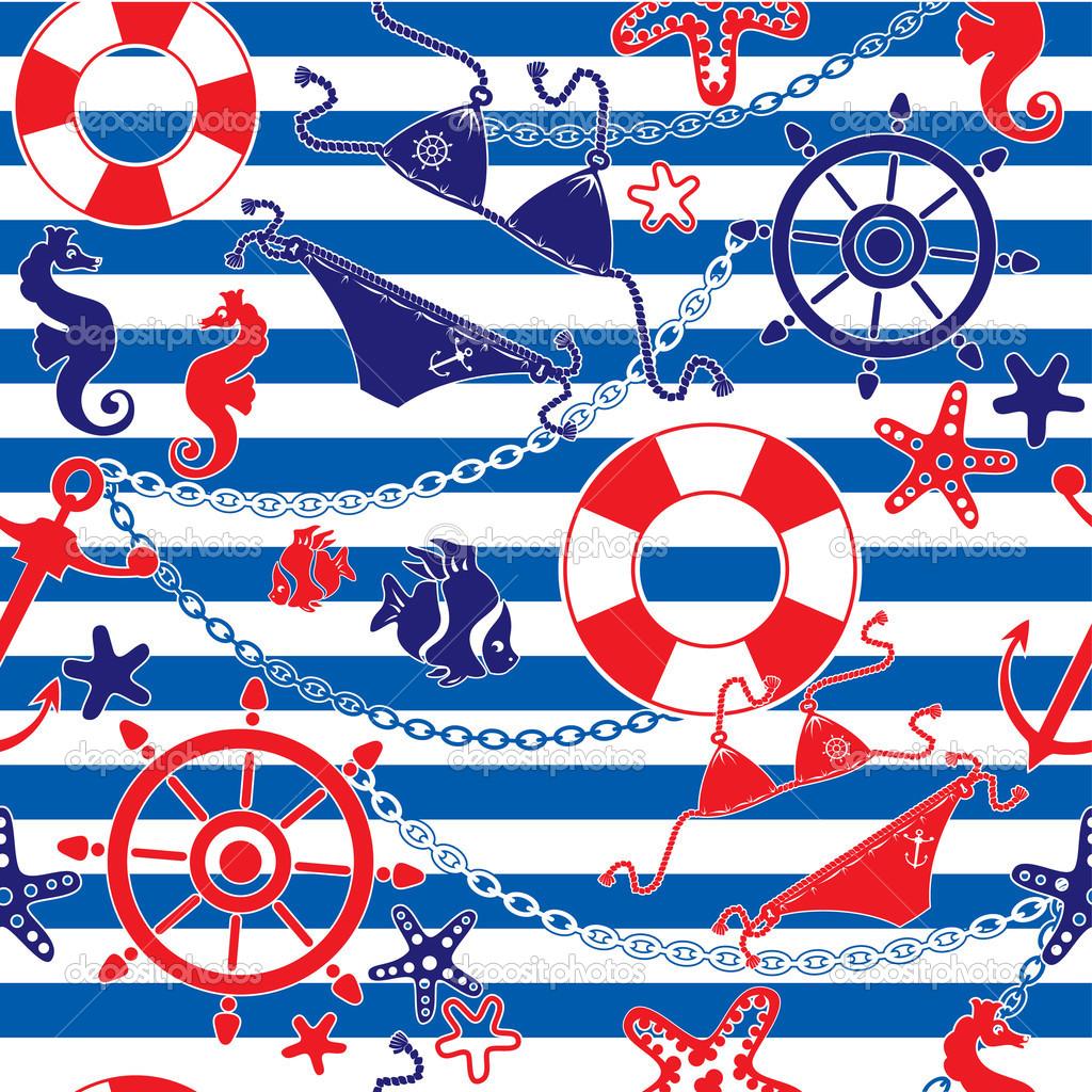 nautical rope wallpaper