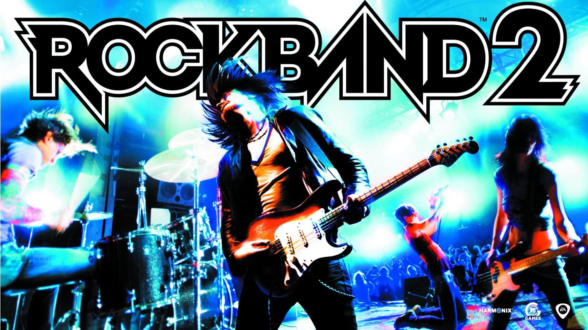 rock band 2 cover submitted by waggly bean rock band 2 title submitted ...