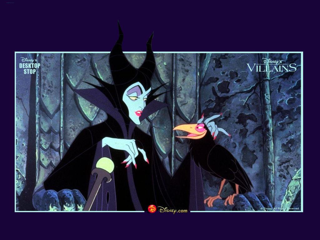 Maleficent Wallpaper   Sleeping Beauty Wallpaper 976720 1024x768