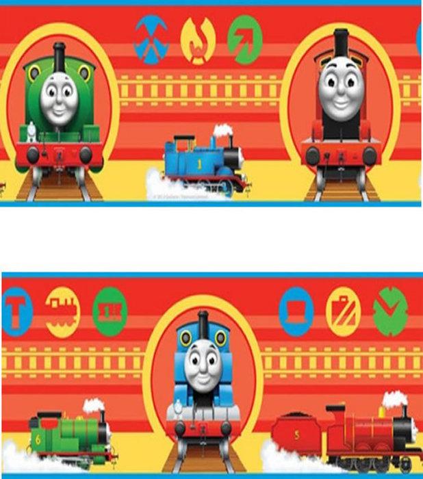 Childrens Rooms Thomas the Tank Engine Thomas Wallpaper Border 618x700