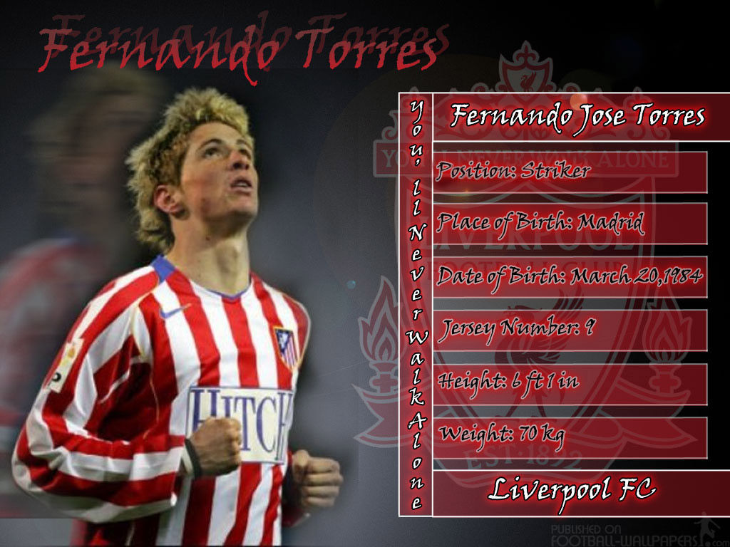 Torres Atletico Madrid Wallpapers Players Teams Leagues 1024x768