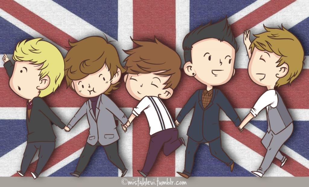 One Direction Cartoon Wallpapers 1024621 wallpapers55com   Best 1024x621