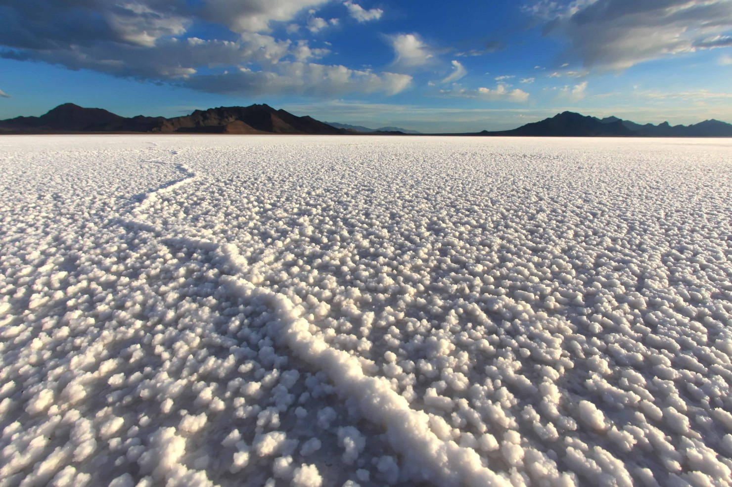 Bonneville Salt Flats Retina Wallpaper 1480x985
