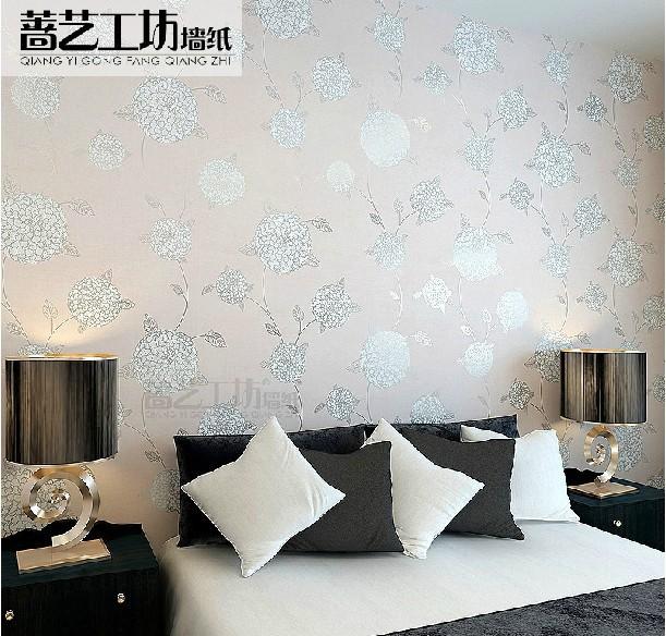 Modern Italian Style Floral Wallpaper Papel De Parede Roll Wallpaper 611x584